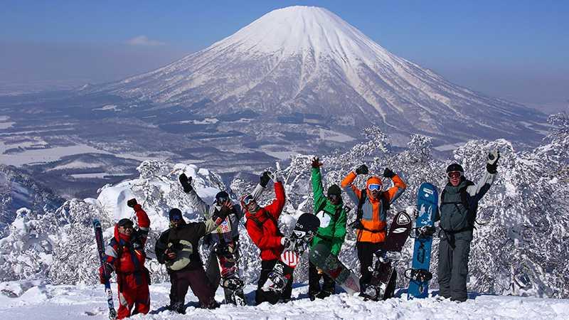 北海道スキー イメージ ルスツ