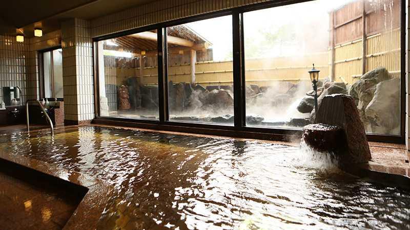 スノボツアー斑尾高原ホテル_本館大浴場