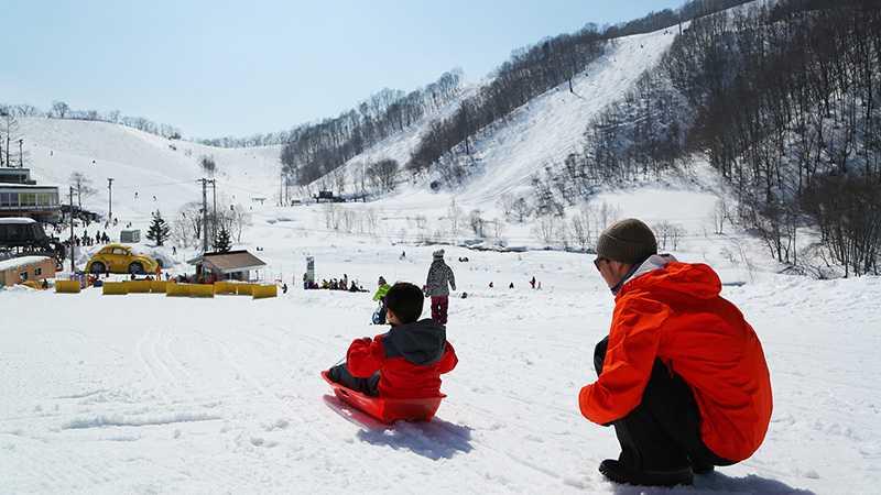 キッズパーク鹿島槍スキー場②