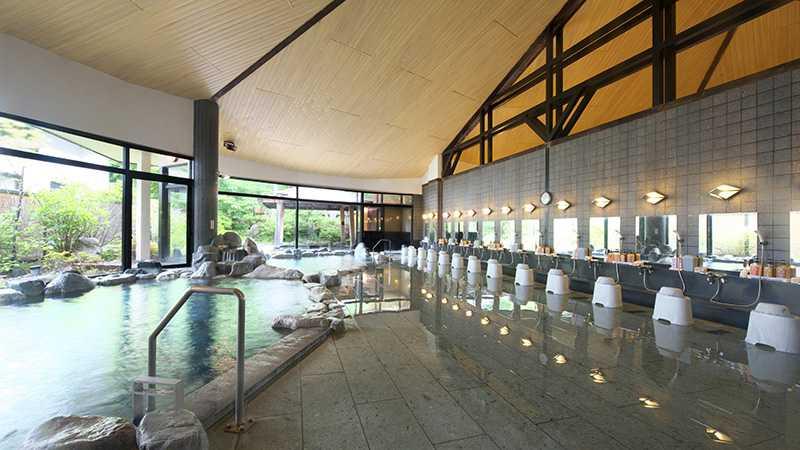黒部観光ホテル_石の湯内湯