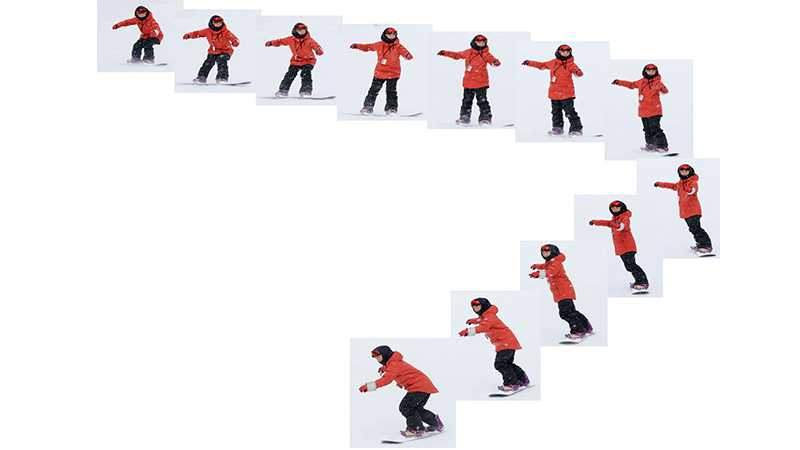 始めてのスノーボード!スクールで教えてくれる「ターン」の内容を公開