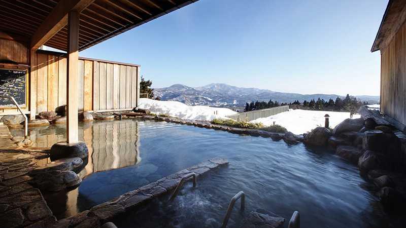 スノボツアー太閤 展望露天風呂