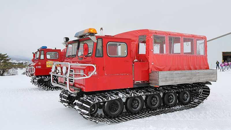 雪上車体験 イメージ