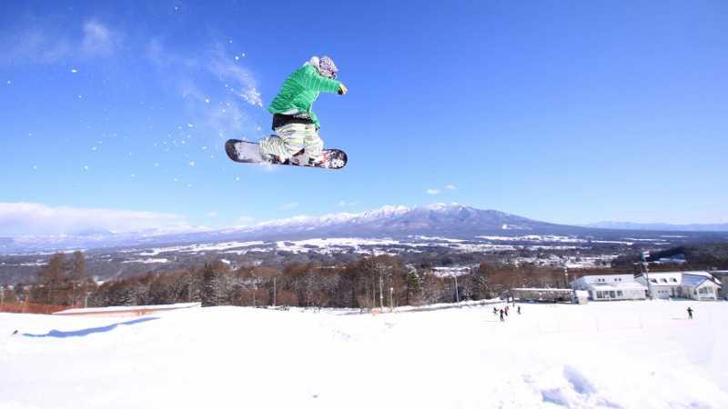 スノボツアー富士見パノラマリゾート
