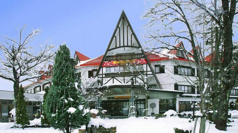 スノボツアー黒部観光ホテル_外観