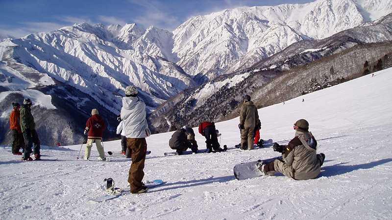 スノボツアー白馬岩岳スノーフィールド