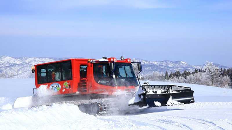 野沢温泉スキー場 雪上体験