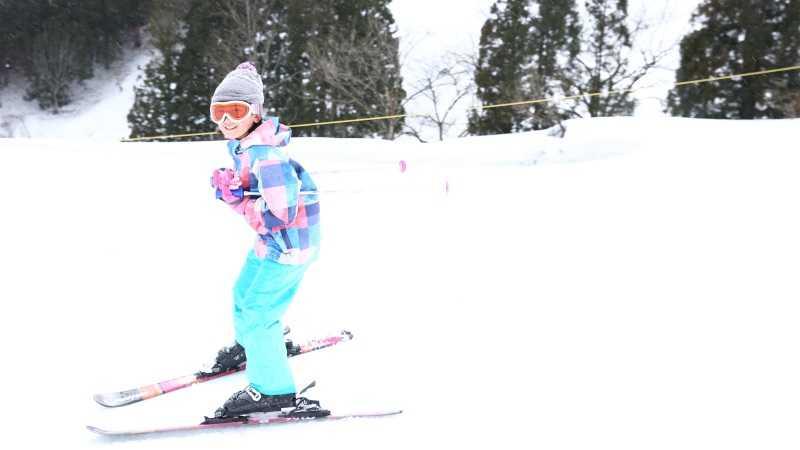 子供スキー
