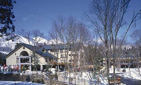 白馬樅の木ホテル外観